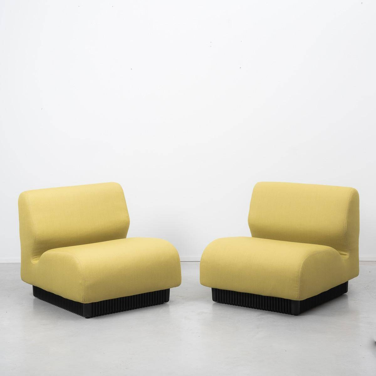 Yellow British Modular Sofadon Chadwick For Herman Miller with regard to Chadwick Sofas (Image 15 of 15)