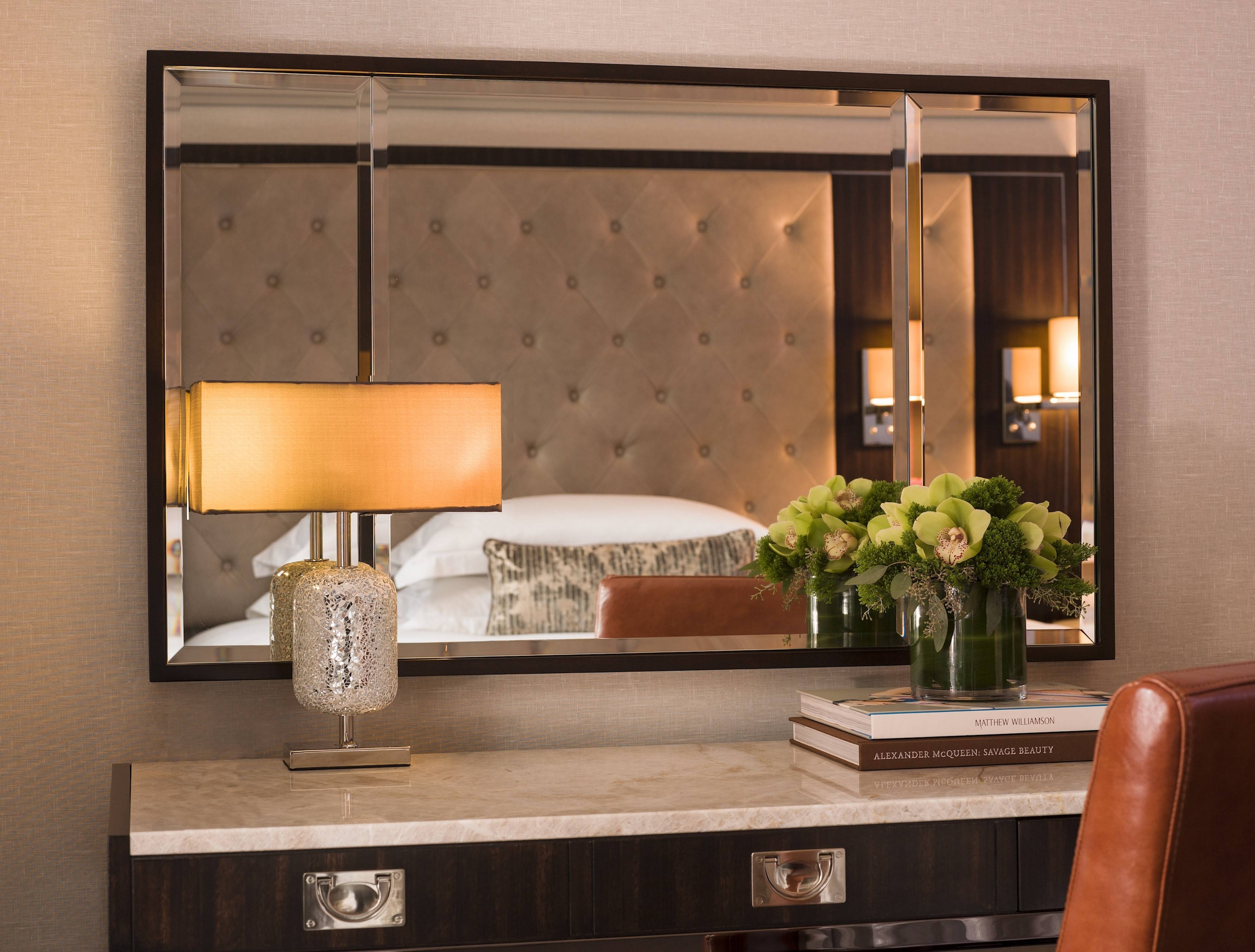 10 Design Ideas To Steal From Hotels | Huffpost with regard to Hotel Inspired Mirrors (Image 1 of 15)