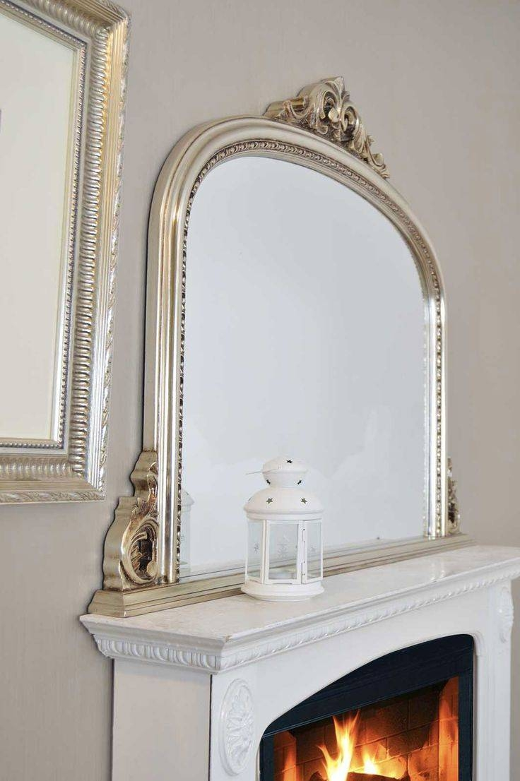16 Best Over Mantle Mirrors Images On Pinterest | Overmantle in Mantlepiece Mirrors (Image 1 of 15)