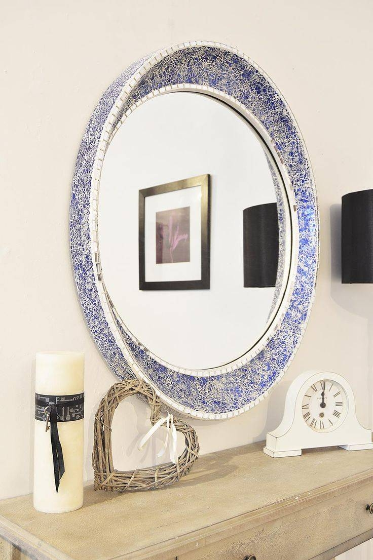 19 Best Round Mirrors Images On Pinterest | Round Mirrors Pertaining To Blue Round Mirrors (View 9 of 15)