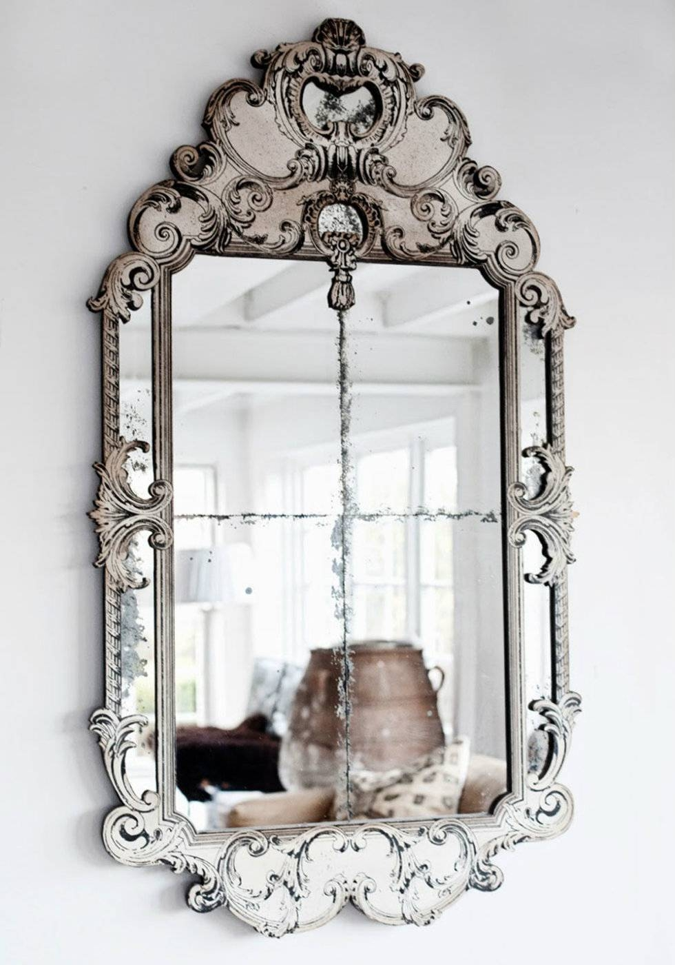 2015 Milan Design Week Trend To See: Luxurious Venetian Mirrors intended for Cheap Venetian Mirrors (Image 1 of 15)