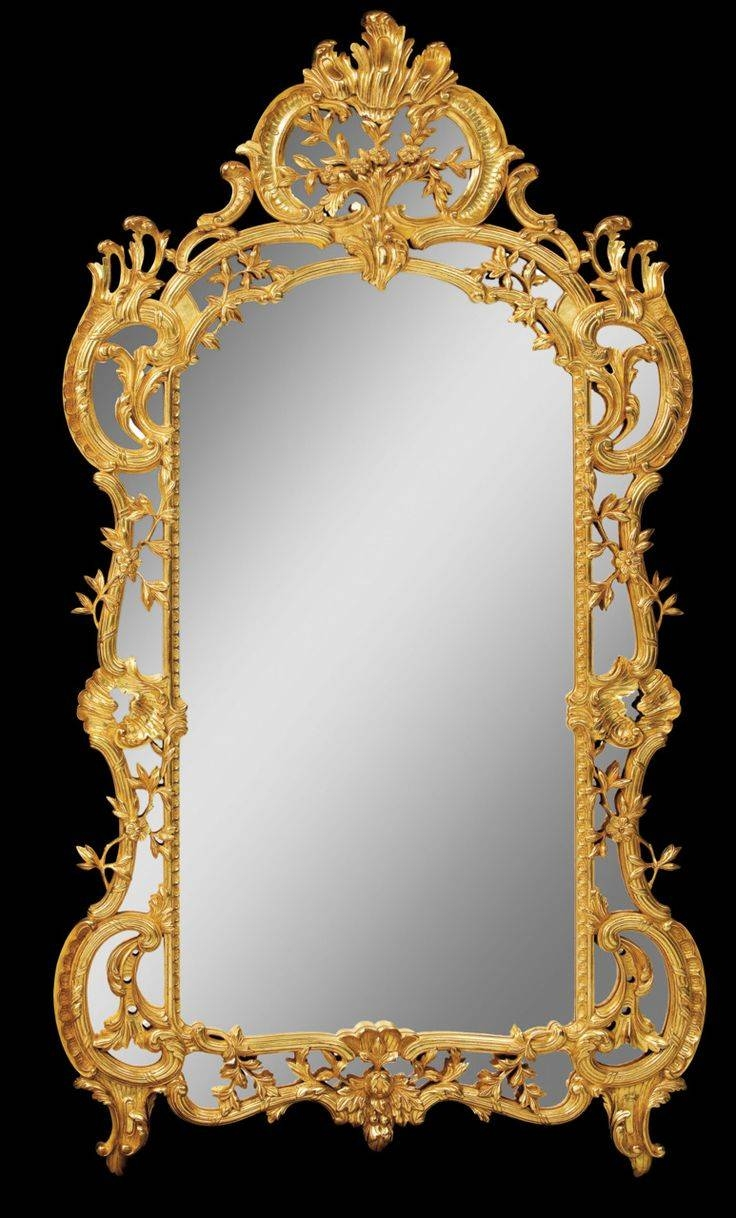222 Best Mirrors Images On Pinterest | Mirror Mirror, Antique within Gold Mirrors (Image 1 of 15)