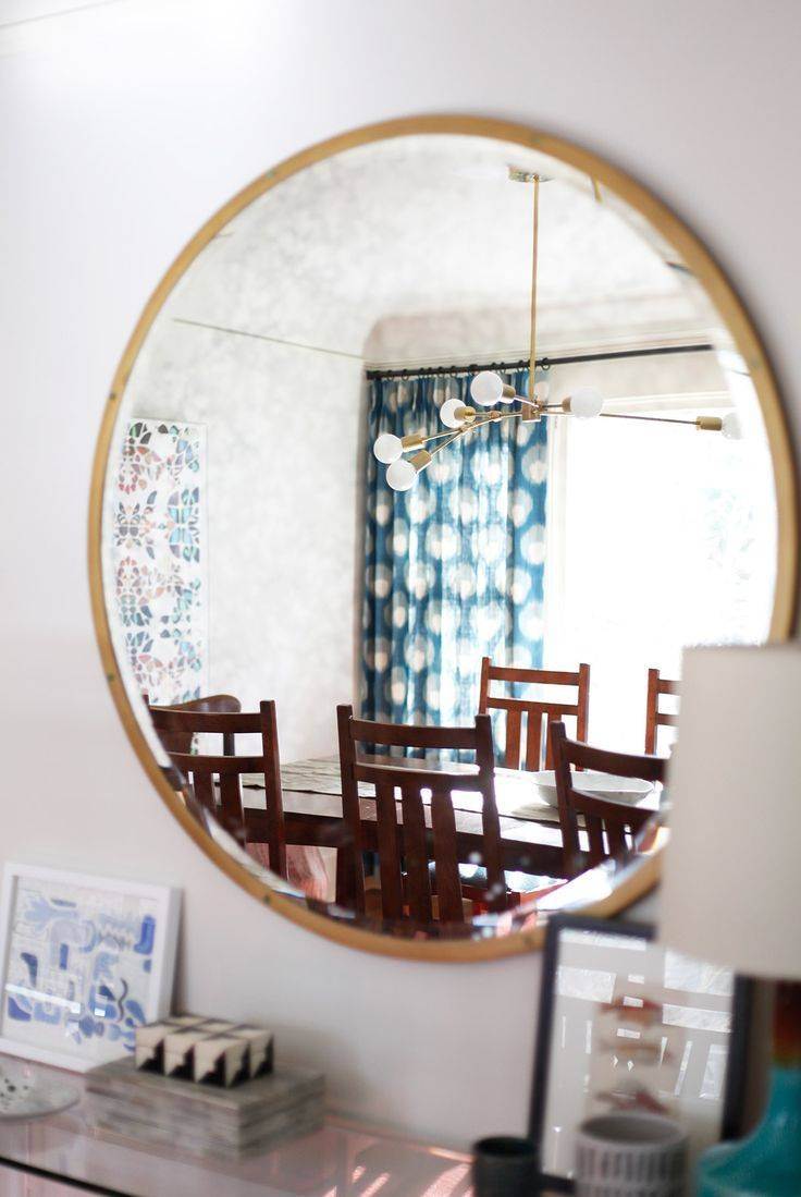 229 Best Round Mirrors Images On Pinterest | Bedroom, Circle In Huge Round Mirrors (View 1 of 15)