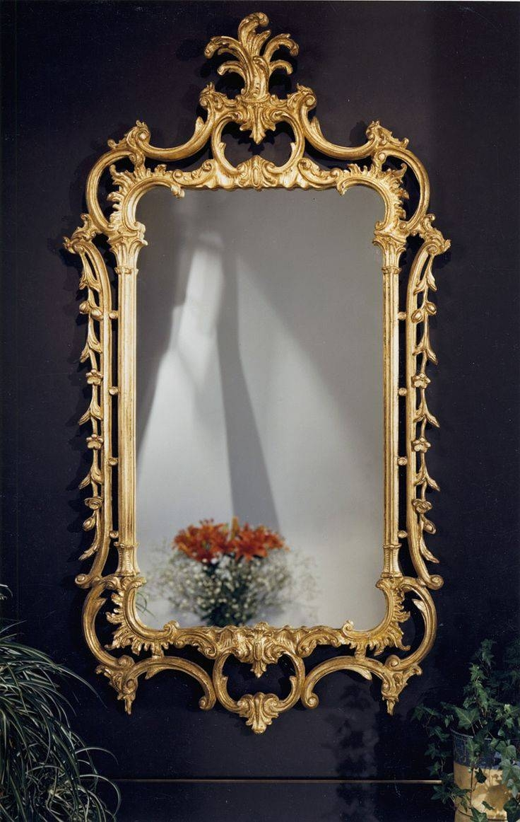 251 Best Vintage Frames Images On Pinterest | Vintage Frames with regard to Fancy Mirrors (Image 2 of 15)