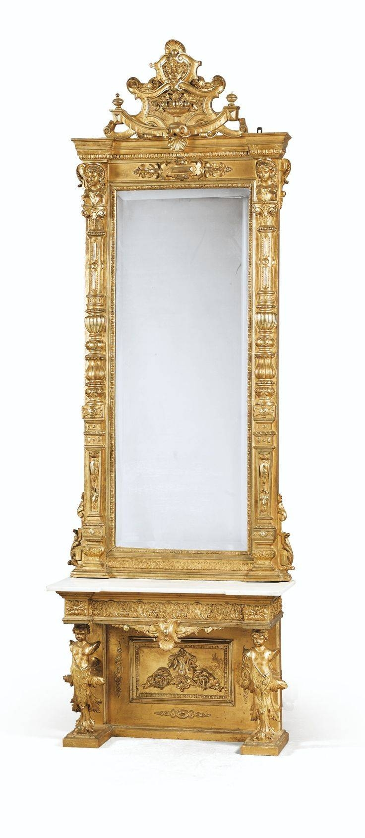 292 Best Victorian And Victorian Style Furniture Images On pertaining to Victorian Style Mirrors (Image 1 of 15)