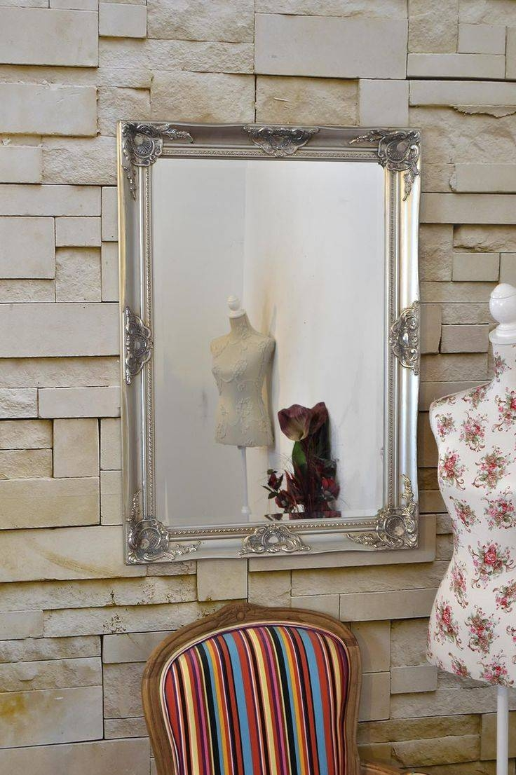 30 Best Shabby Chic Mirrors Images On Pinterest | Shabby Chic Inside Big Shabby Chic Mirrors (View 1 of 15)