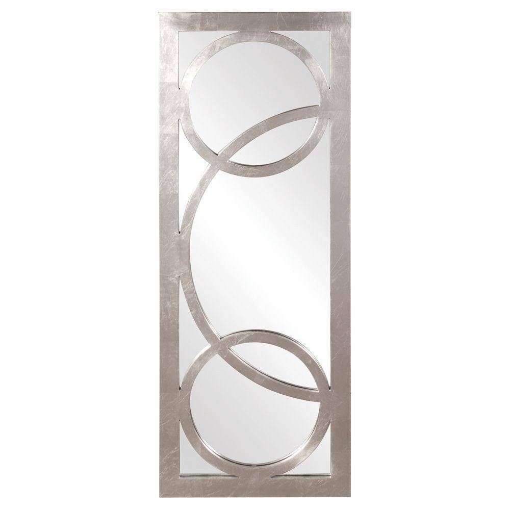 38 In. X 15 In. Silver Whimsical Overlay Framed Mirror-51261 - The with regard to Long Silver Mirrors (Image 1 of 15)