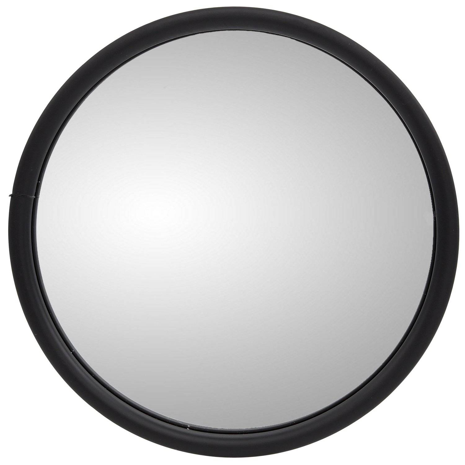 6 In., White Stainless Steel Convex Mirror, Round, Universal Mount In White Convex Mirrors (Photo 13 of 15)