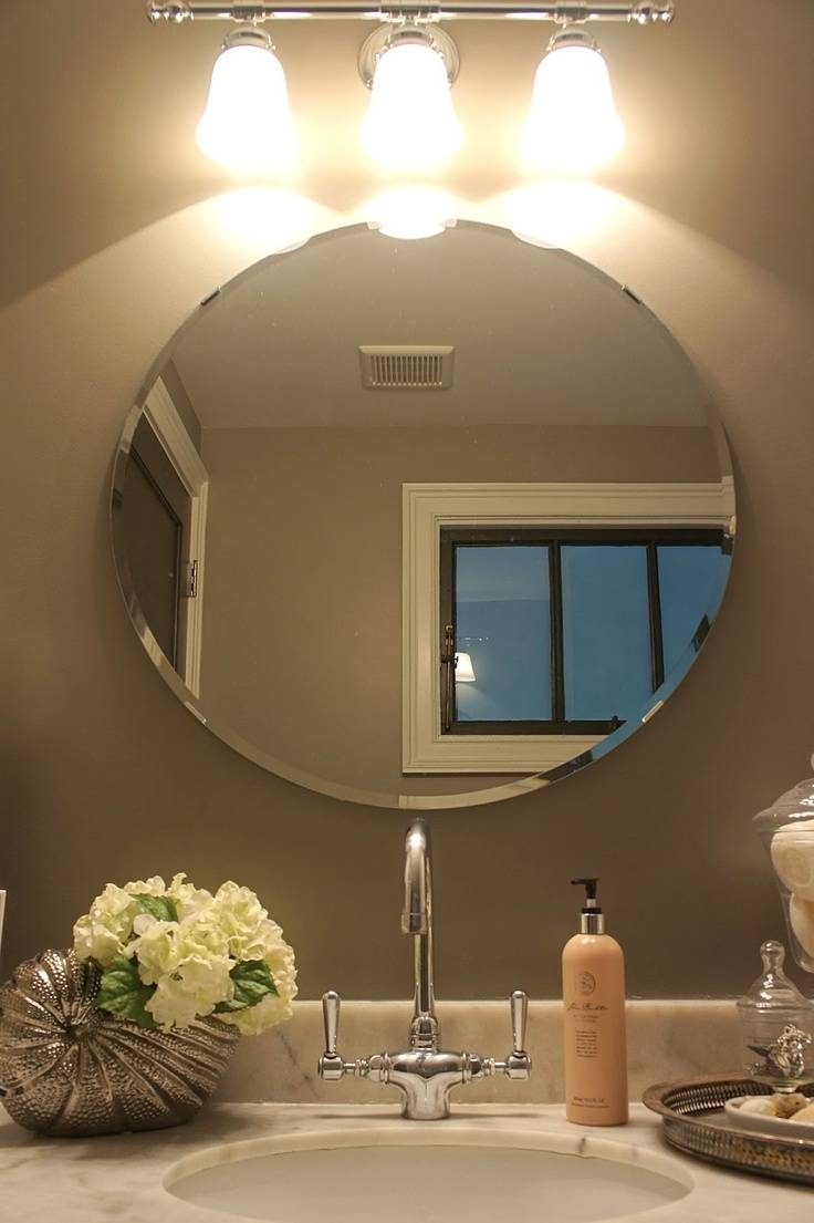 67 Best Mirrors, Big And Round Images On Pinterest | Round Mirrors for Hotel Inspired Mirrors (Image 2 of 15)