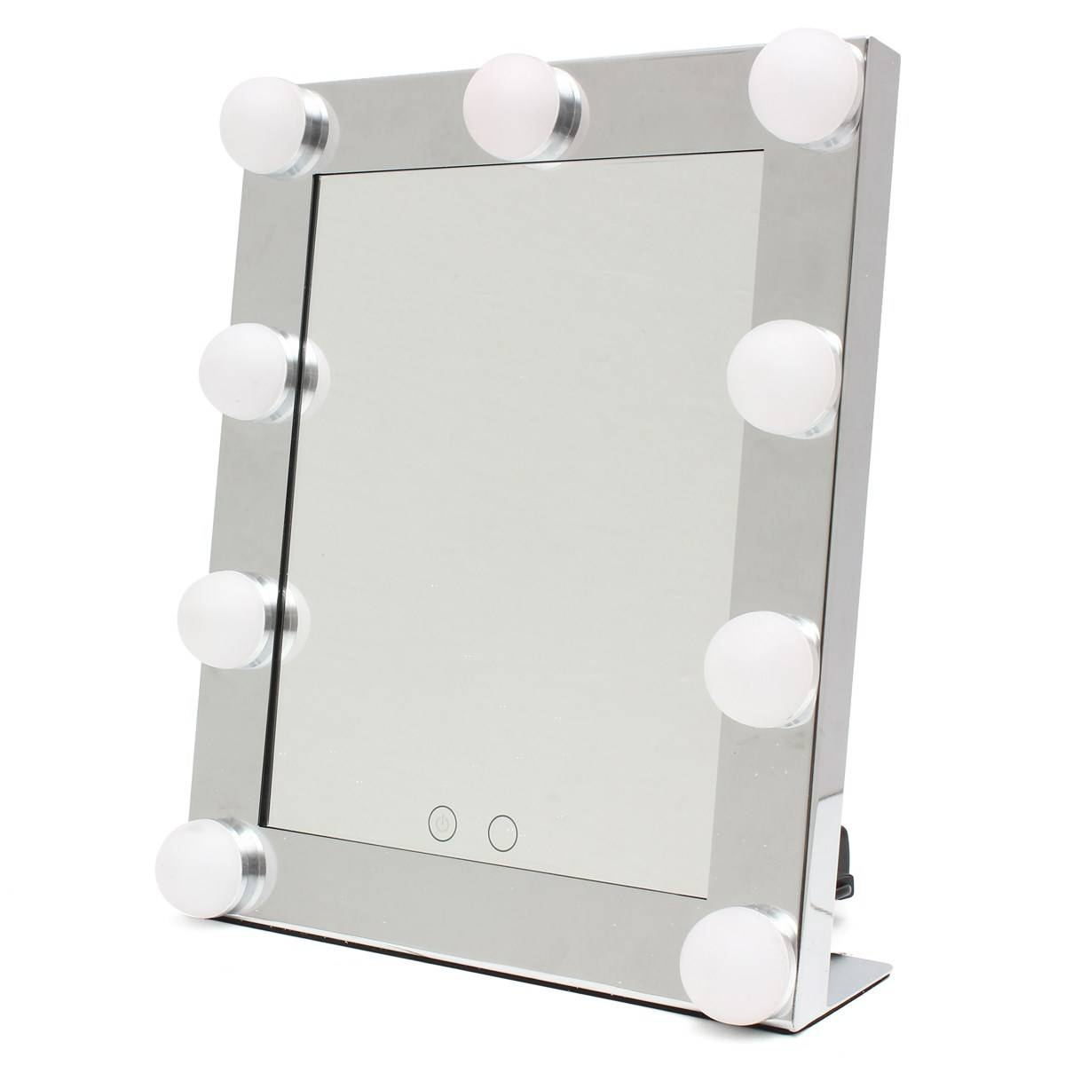 Aliexpress : Buy Professional Led Touch Screen Lighted Vanity Inside Standing Table Mirrors (View 12 of 15)