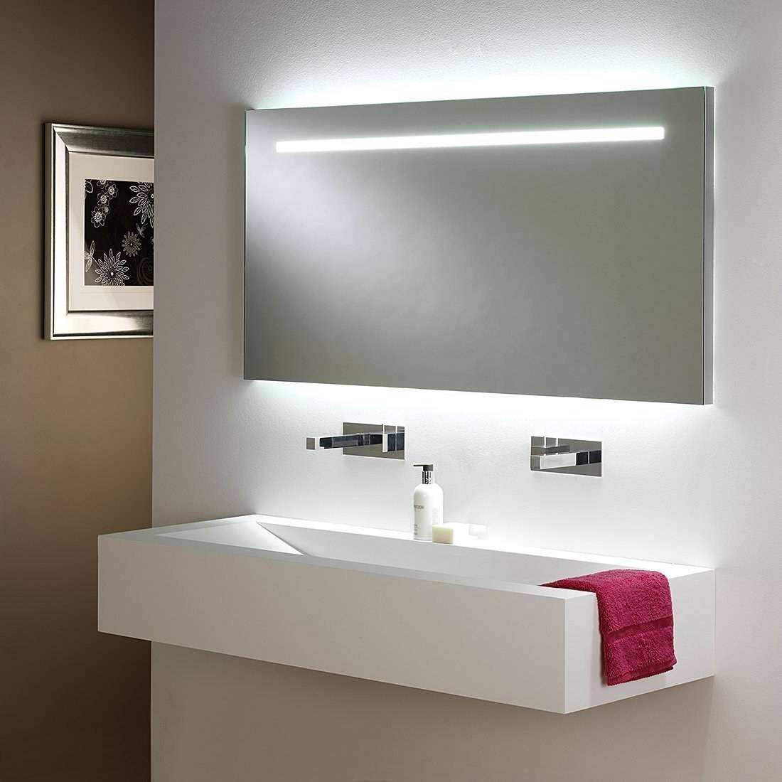 Amusing Large Illuminated Bathroom Mirror Design Ideas Led Round with Large Illuminated Mirrors (Image 1 of 15)