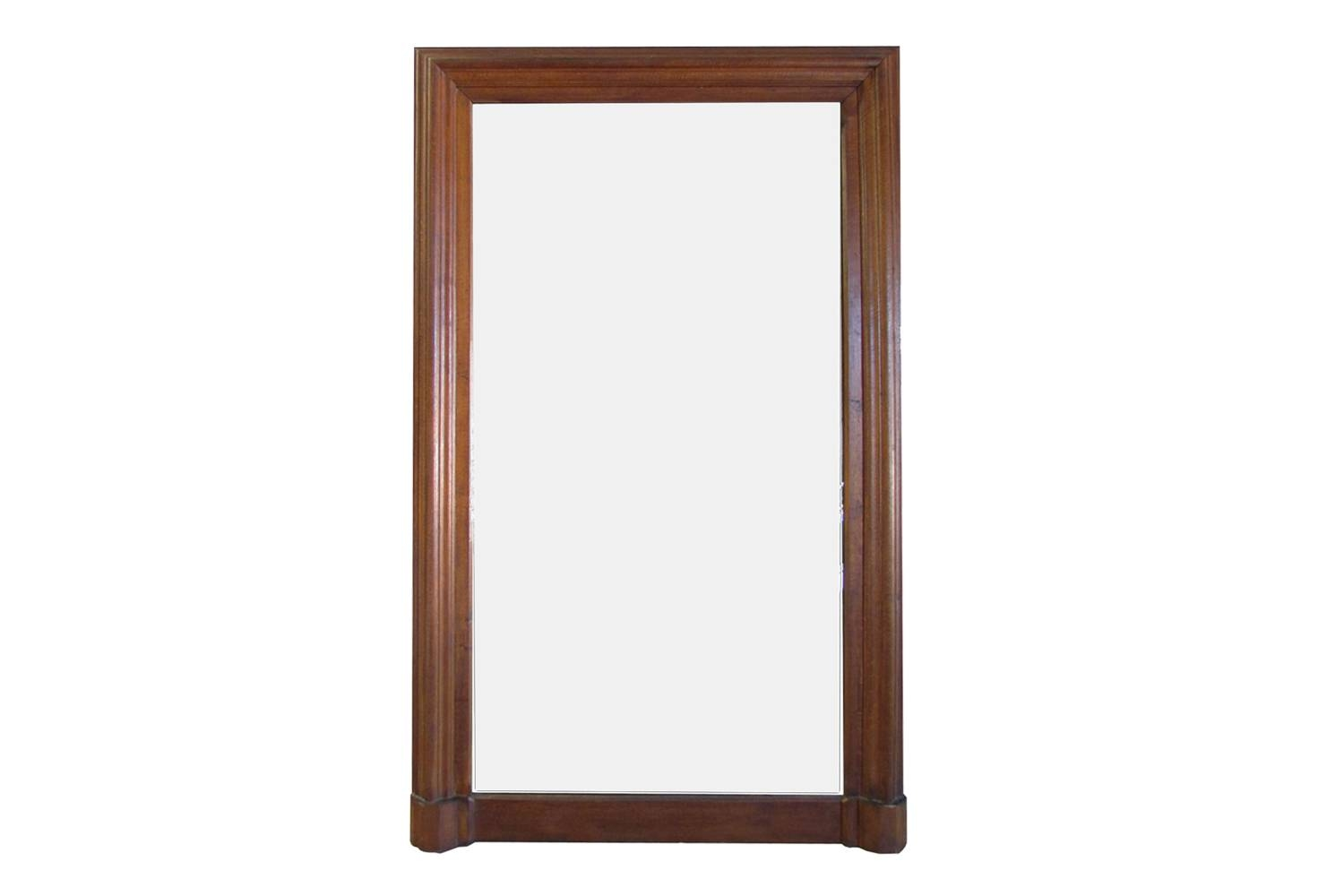 Antique French Oak Mirror | Omero Home in Antique Oak Mirrors (Image 2 of 15)
