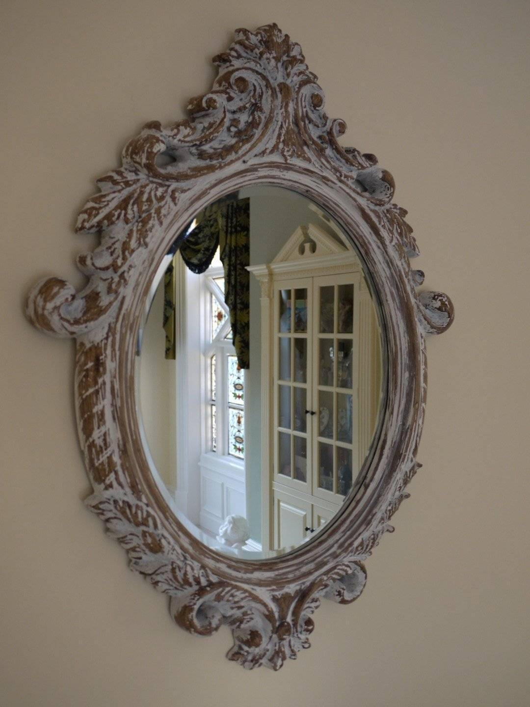 Featured Photo of Antique Cream Wall Mirrors