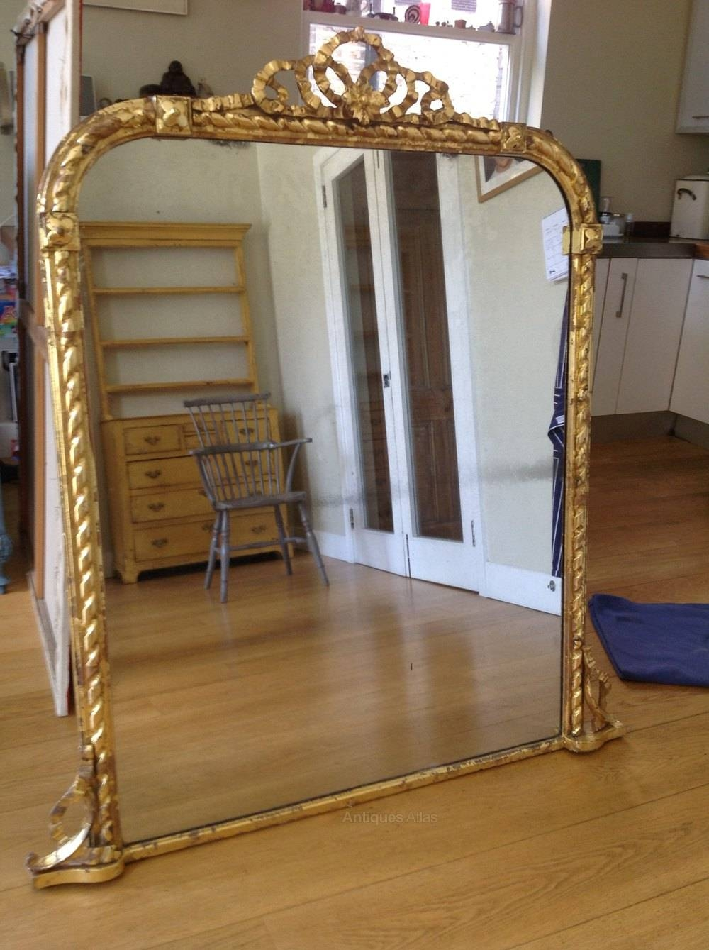 Antiques Atlas – Large Victorian Mirror With Victorian Mirrors (View 5 of 15)