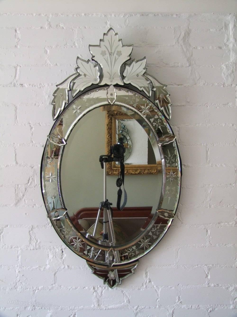Antiques Atlas - Oval Venetian Mirror inside Venetian Oval Mirrors (Image 2 of 15)