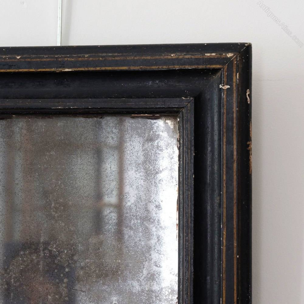 Antiques Atlas - Petite Antique Black Mirror for Black Antique Mirrors (Image 1 of 15)