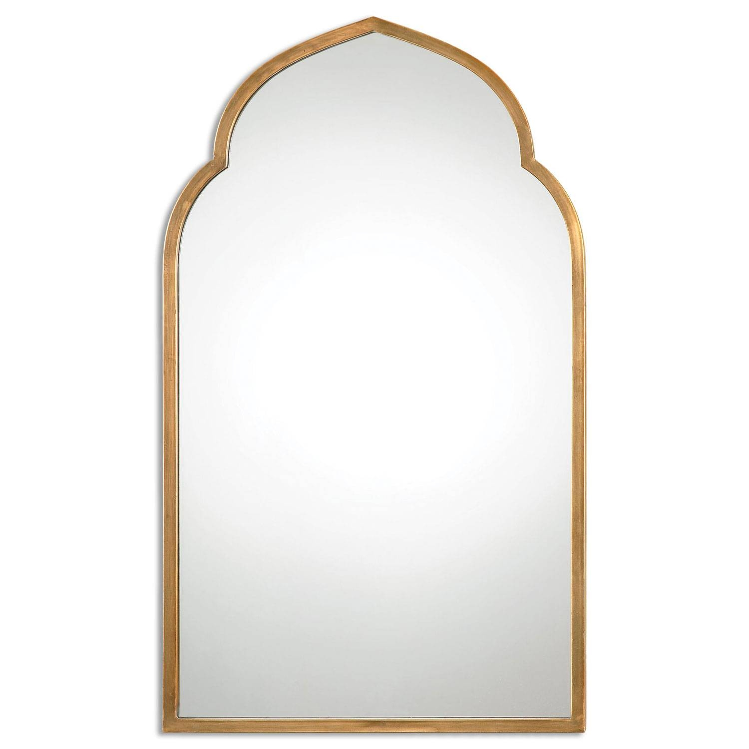 Arched Crowned Mirrors | Bellacor with Curved Top Mirrors (Image 2 of 15)