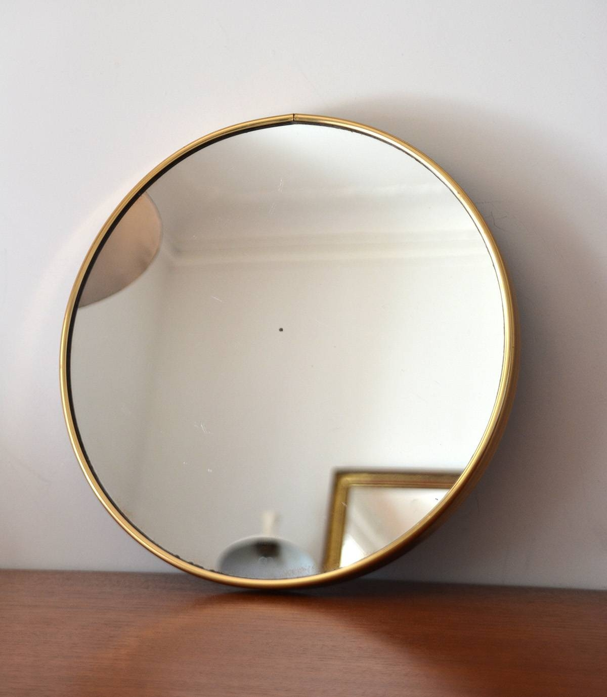 Art Deco Mirror Minimalist | Asfancy regarding Brass Mirrors (Image 3 of 15)