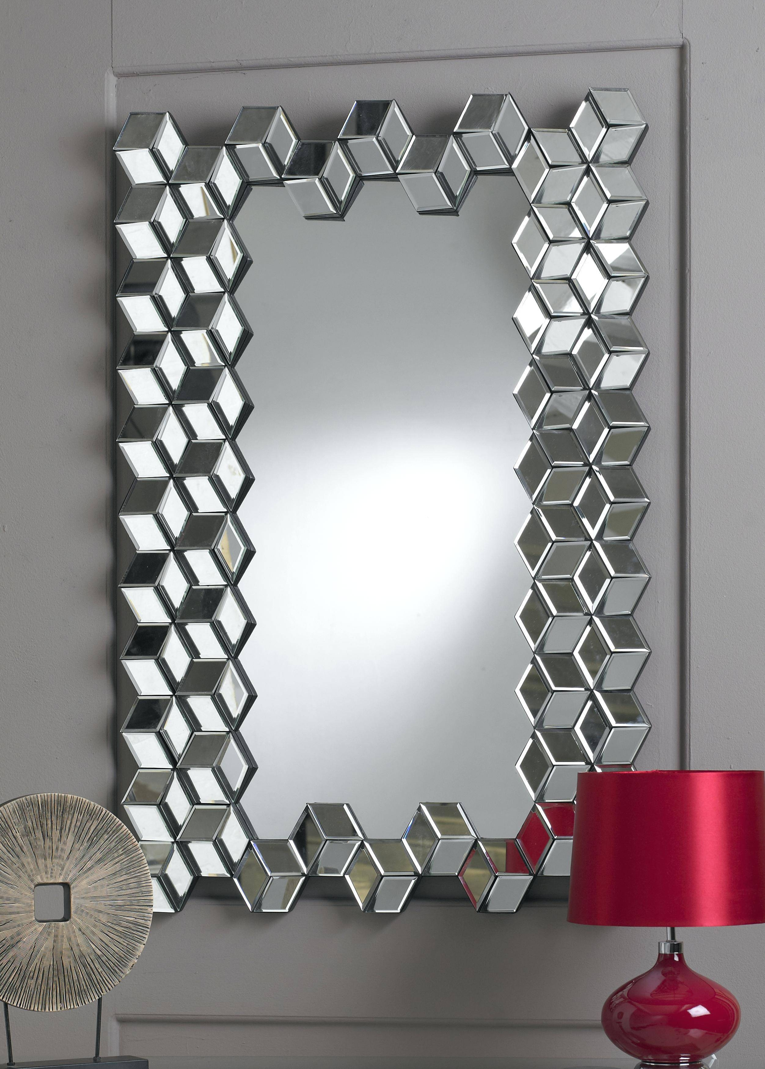 Articles With Red Wall Mirror Tag: Red Wall Mirror (View 4 of 15)