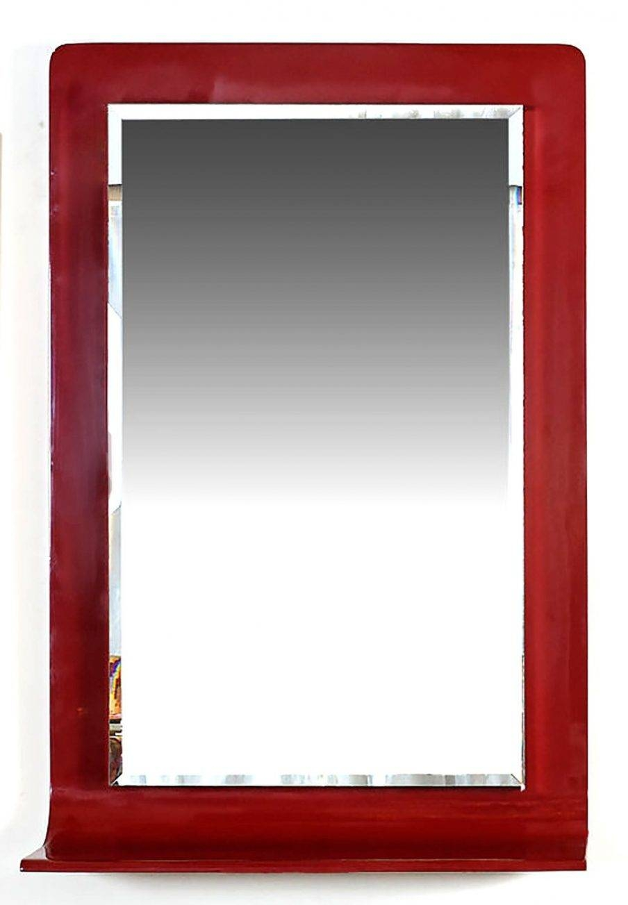 Articles With Red Wall Mirrors Decorative Tag: Red Wall Mirror Design (View 13 of 15)