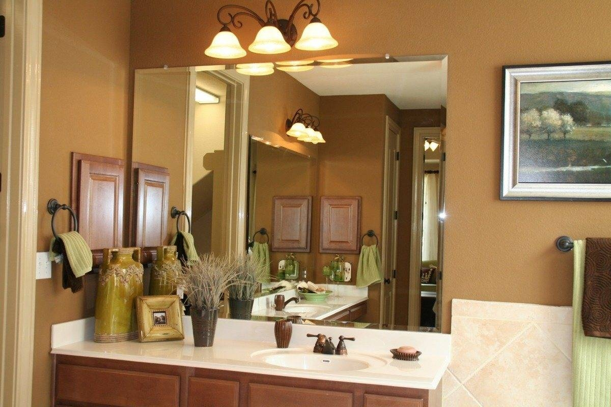Bathroom Cabinets : Beveled Vanity Mirror In On Both Sides Beveled inside Bevel Mirrors (Image 4 of 15)