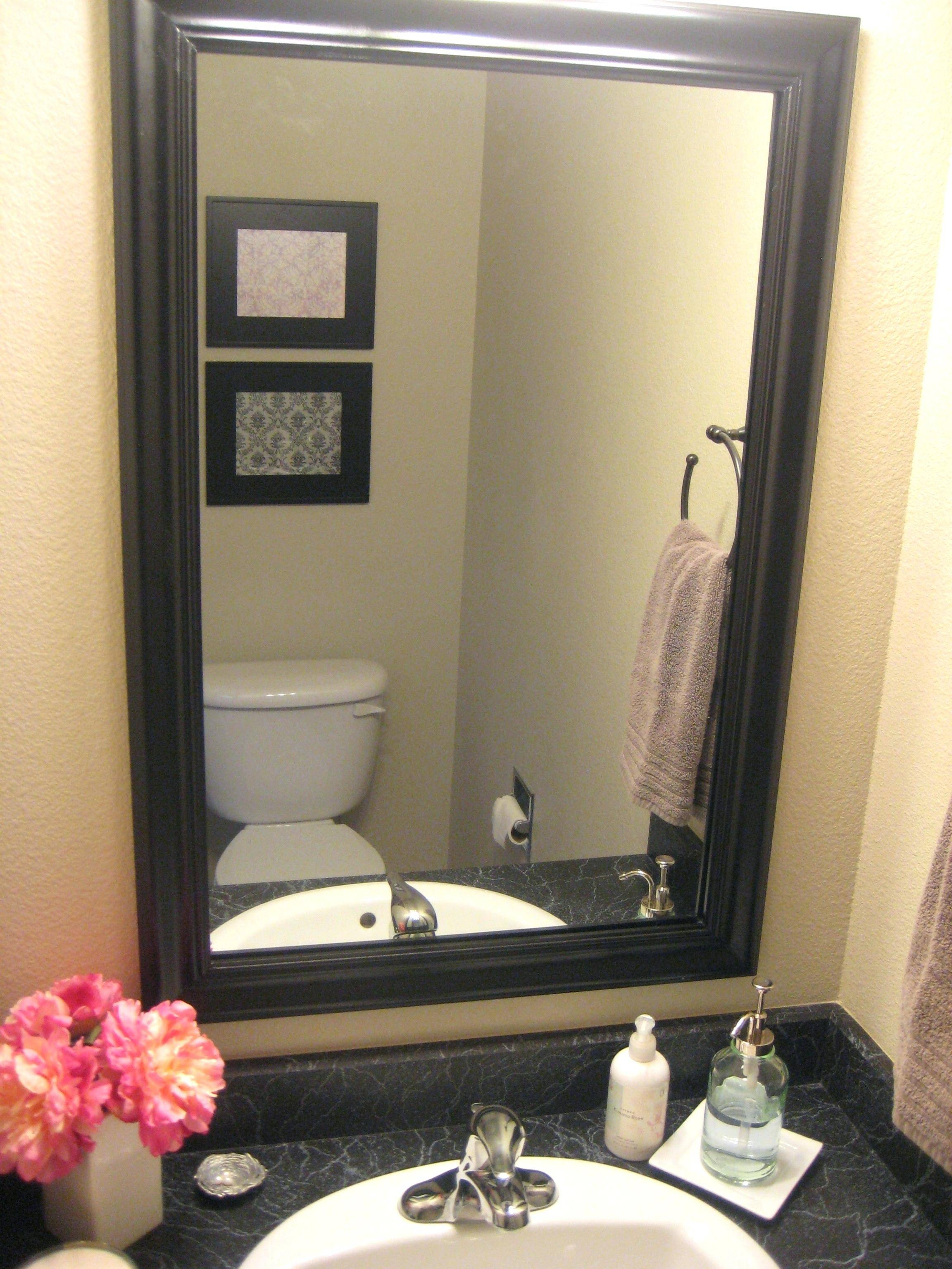 Bathroom Cabinets : Black Oval Mirror Mirrors For Sale Black with regard to Black Vintage Mirrors (Image 2 of 15)