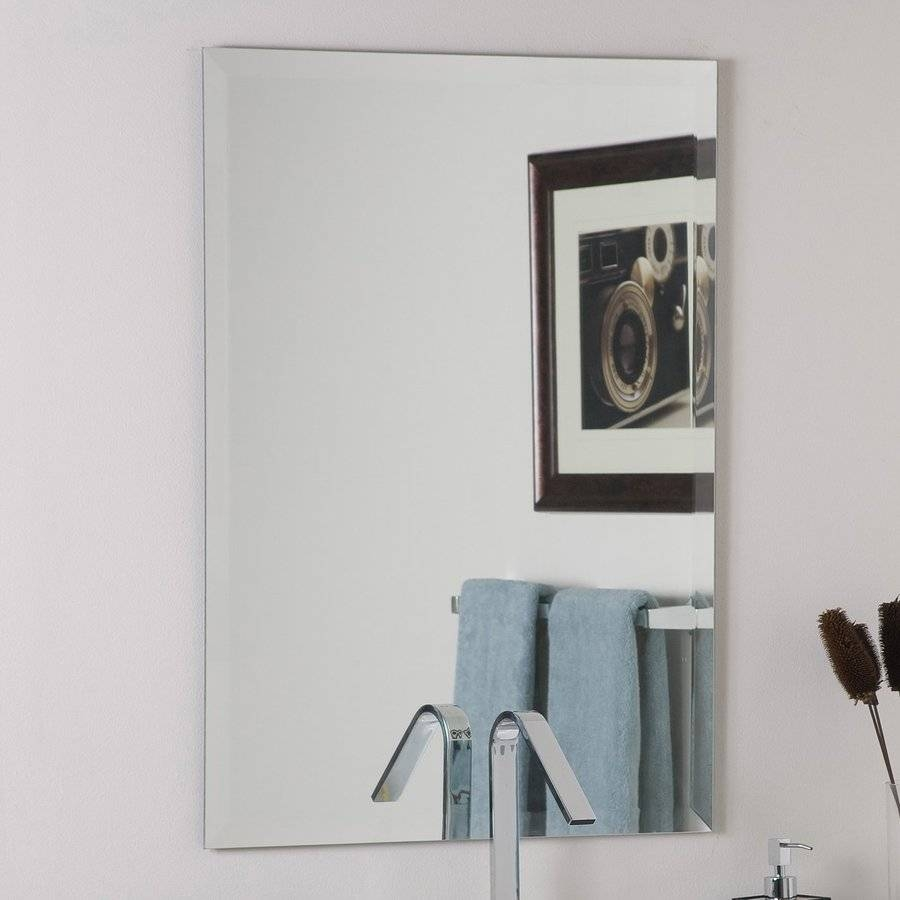 Bathroom Cabinets : Cheap Wall Mirrors Bevelled Edge Mirror Custom with Bevelled Edge Bathroom Mirrors (Image 3 of 15)