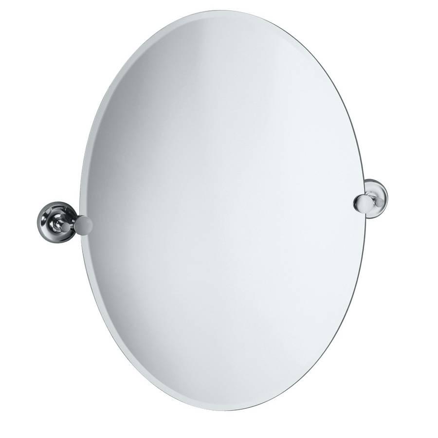 Bathroom Cabinets : Frameless Mirror Big Mirrors Bathroom Mirrors Within Bevelled Oval Mirrors (View 1 of 15)