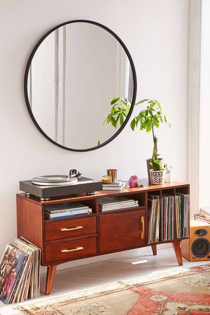 Bathroom Cabinets : Large Round Bathroom Mirrors Oversized Mirror within Very Large Round Mirrors (Image 3 of 15)