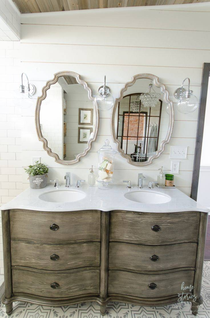 Bathroom Cabinets : Small Bathroom Mirror Ideas Wall Of Mirrors with Large Old Mirrors (Image 5 of 15)