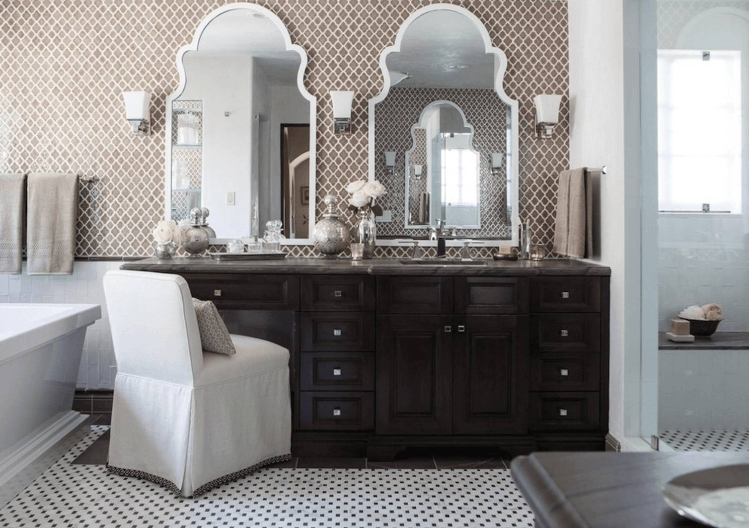 Bathroom Mirror Ideas To Reflect Your Style Freshome Ideas 21 within Vintage Bathroom Mirrors (Image 5 of 15)