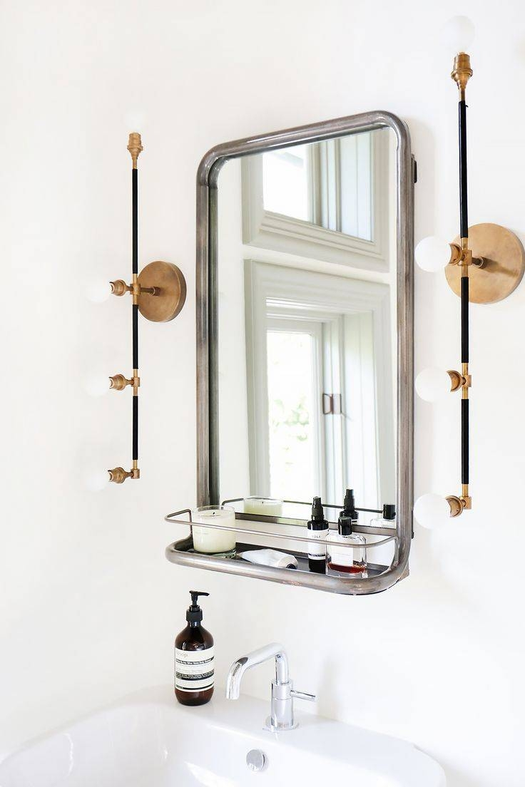 Bathroom Mirrors : Bathroom Mirror Vintage Images Home Design In Vintage Mirrors For Bathrooms (View 6 of 15)