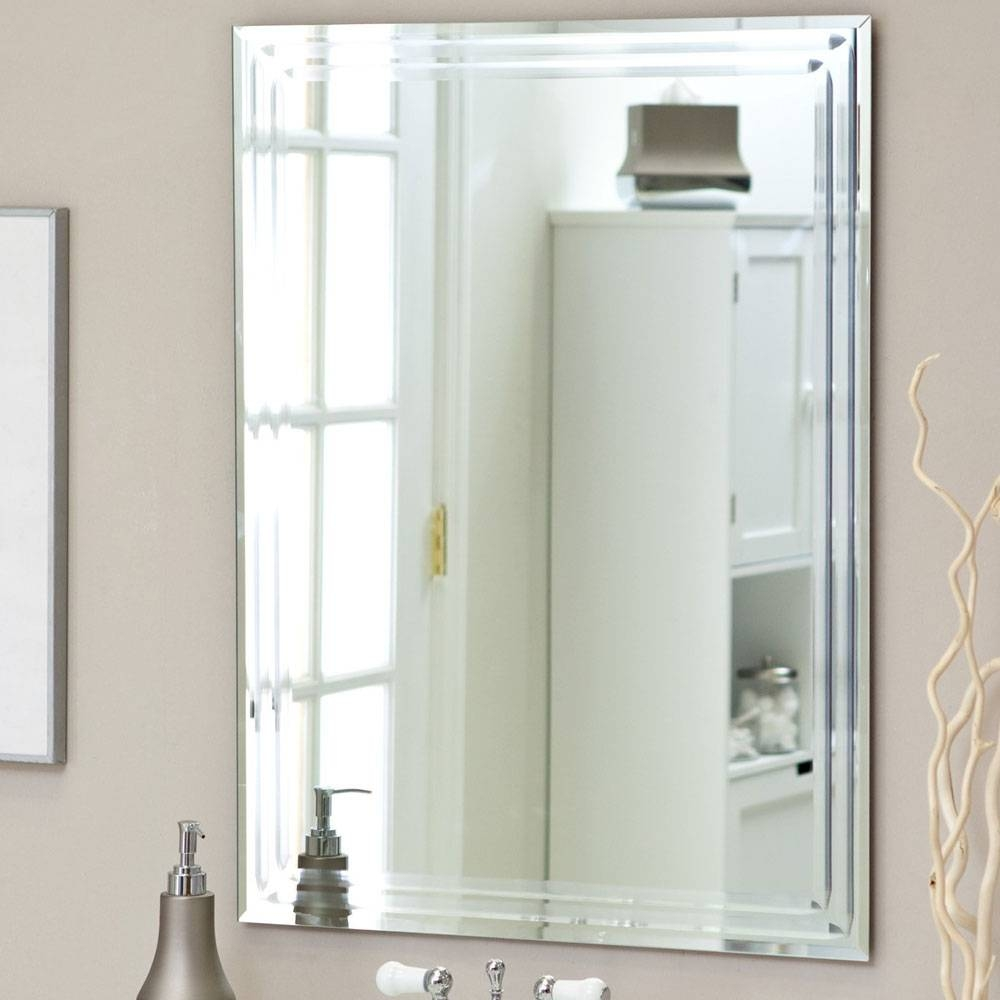 Bathroom Mirrors : Bevelled Bathroom Mirror Best Home Design within Bevelled Bathroom Mirrors (Image 6 of 15)