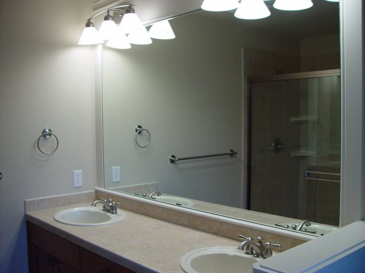 Bathrooms Design : Frameless Bathroom Mirrors Cool Mirror Awesome intended for Bevelled Bathroom Mirrors (Image 7 of 15)