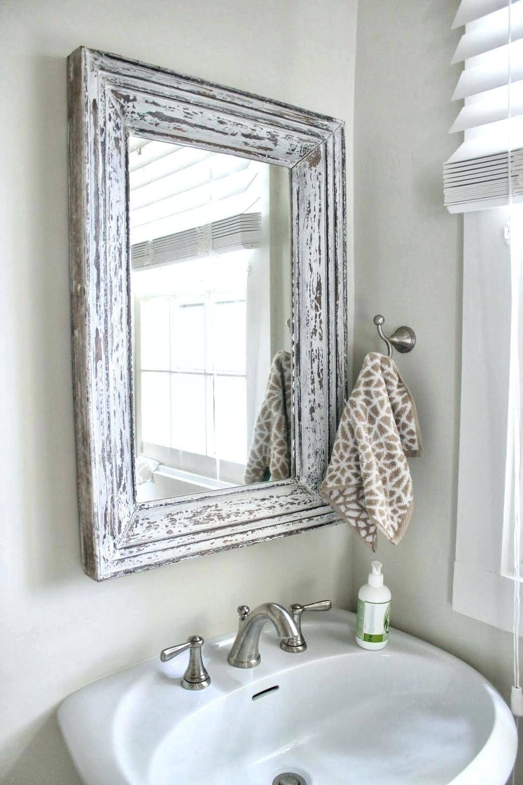 Popular Photo of Shabby Chic Bathroom Mirrors