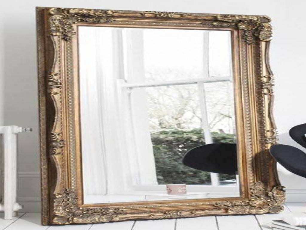 Bedroom: Big Mirror For Bedroom New 25 Best Ideas About Gold inside Big Gold Mirrors (Image 2 of 15)
