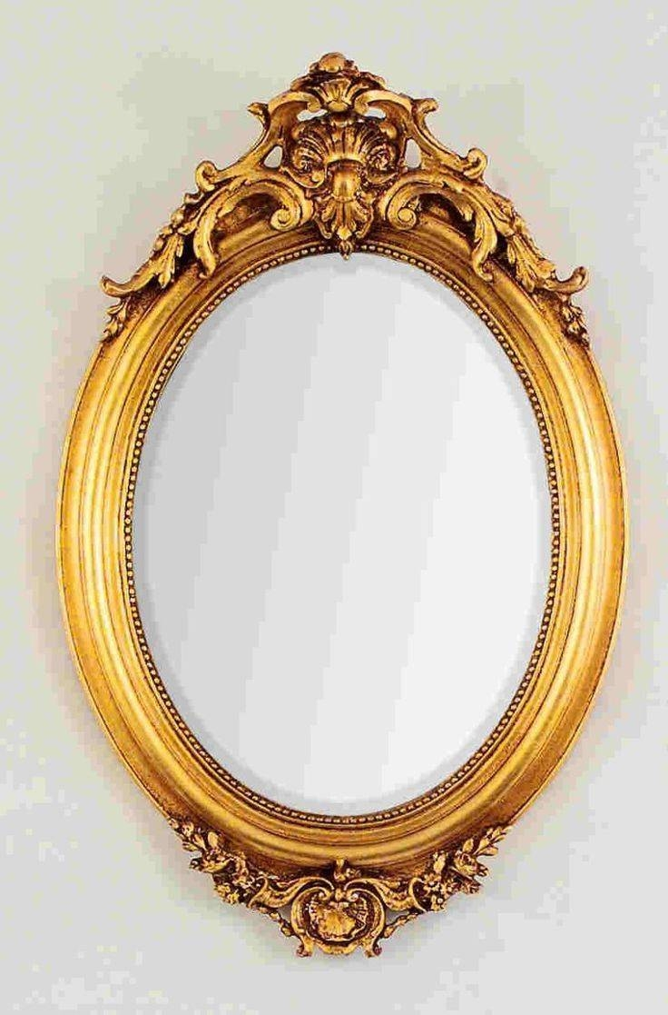 Best 25+ Gold Framed Mirror Ideas On Pinterest | Mirror Walls pertaining to Fancy Mirrors (Image 5 of 15)