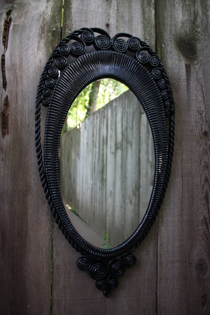 Best 25+ Large Black Mirror Ideas On Pinterest | Large Hallway within Large Black Vintage Mirrors (Image 1 of 15)