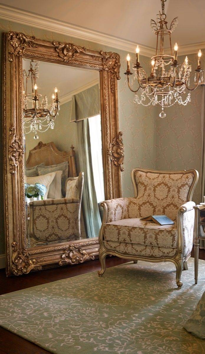 Featured Photo of Large Vintage Floor Mirrors