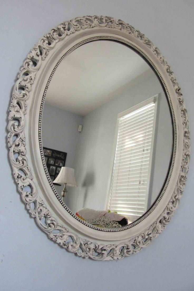 Best 25+ Large Round Mirror Ideas On Pinterest | Big Round Mirror for Round White Mirrors (Image 2 of 15)