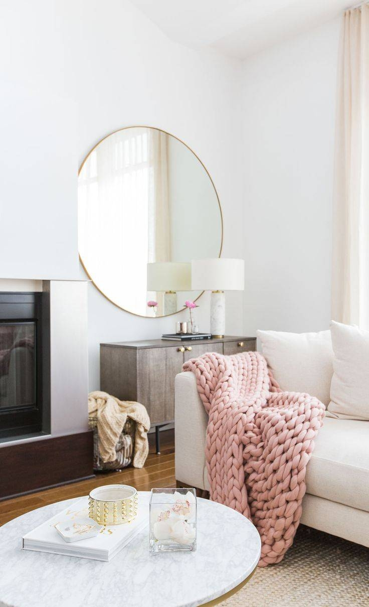 Best 25+ Large Round Mirror Ideas On Pinterest | Big Round Mirror Pertaining To Huge Round Mirrors (View 8 of 15)