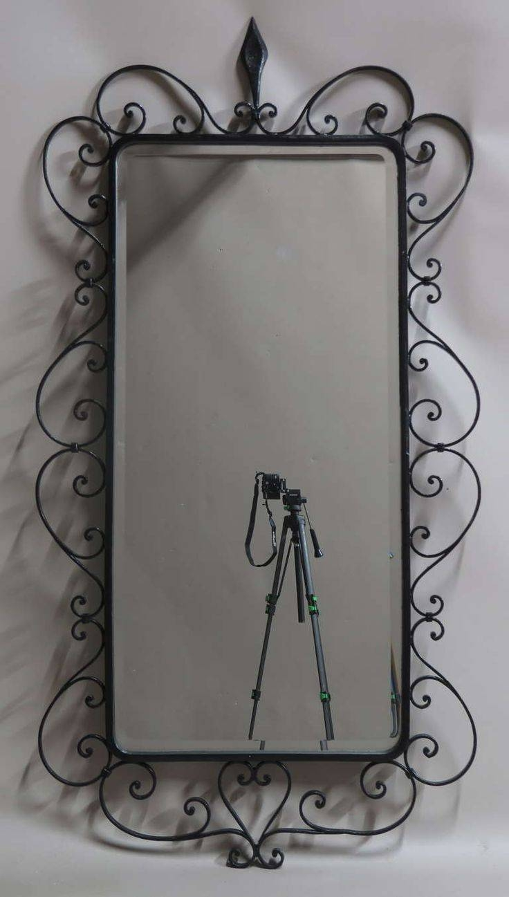 Best 25+ Mirror In Bedroom Ideas On Pinterest | Big Mirror In For Wrought Iron Floor Mirrors (View 15 of 15)