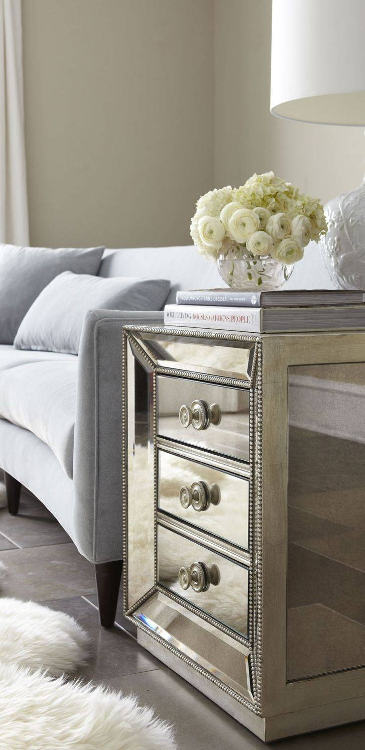Best 25+ Mirrored Side Tables Ideas On Pinterest | Mirrored within Occasional Tables Mirrors (Image 3 of 15)