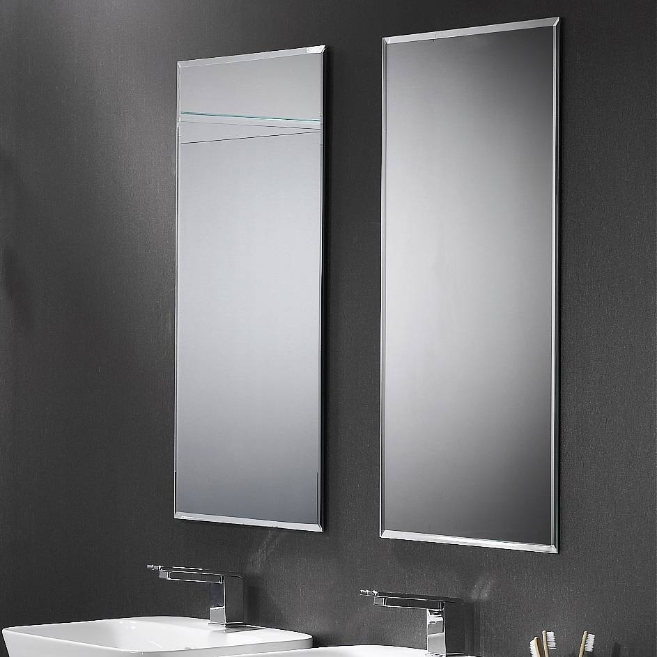 Bevelled Edge Mirror | Athena Bathrooms for Bevelled Edge Bathroom Mirrors (Image 5 of 15)