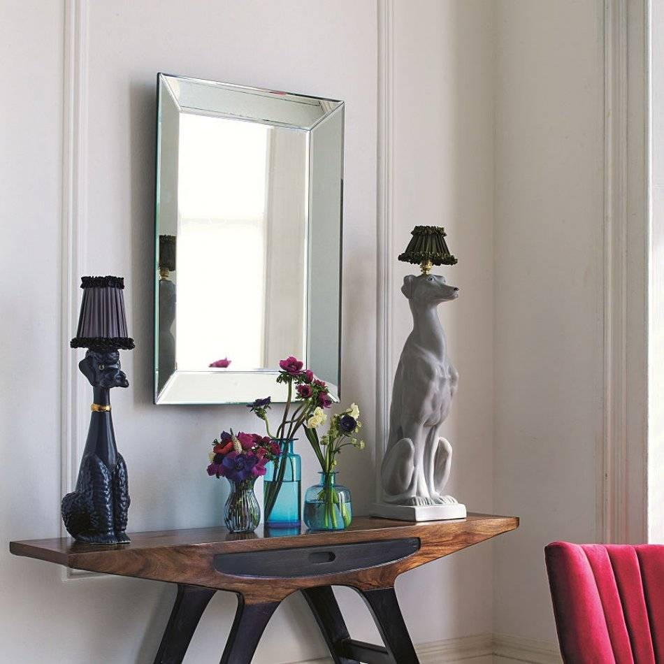 Bevelled Edge Mirror | Wall Mirrors | Graham & Green with regard to Bevelled Edge Mirrors (Image 4 of 15)