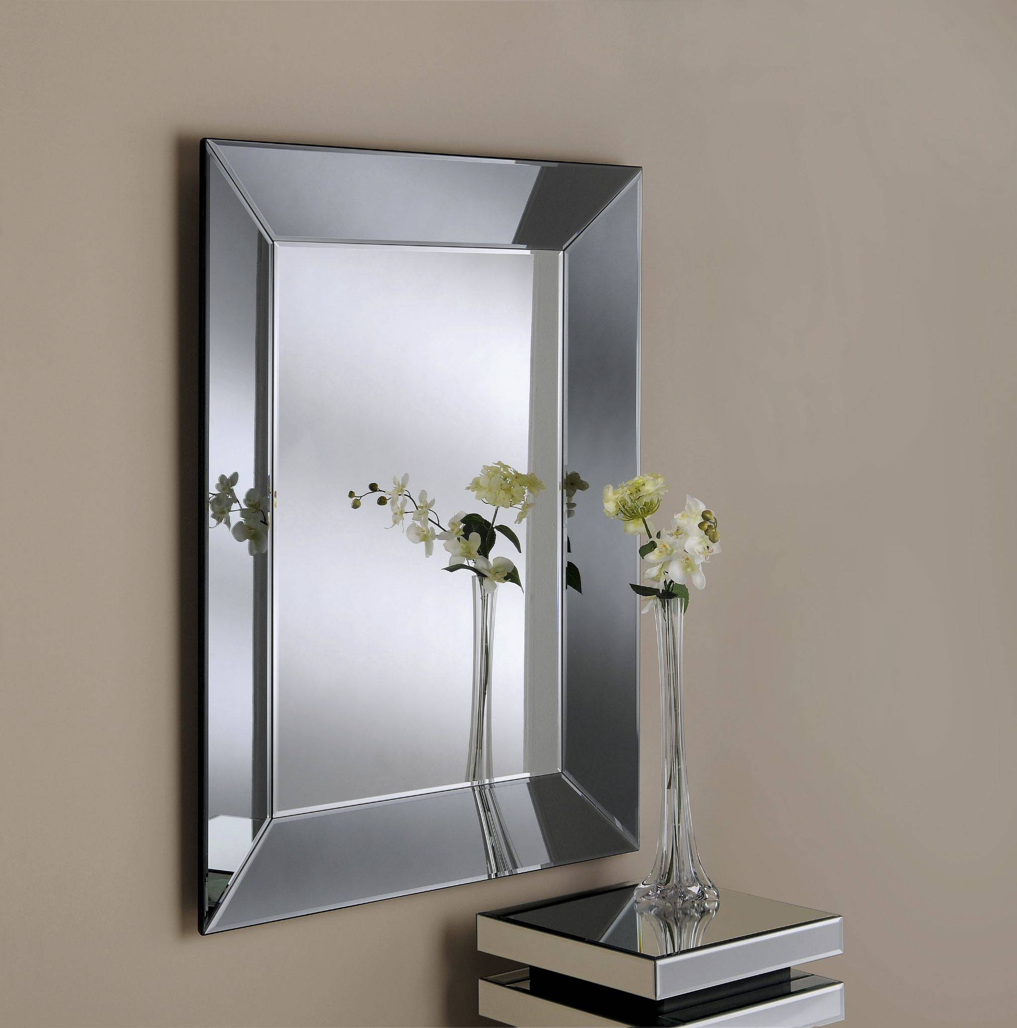 Bevelled Mirror As Indoor Decorative Touch | Lgilab | Modern With Regard To Vintage Bevelled Edge Mirrors (View 15 of 15)