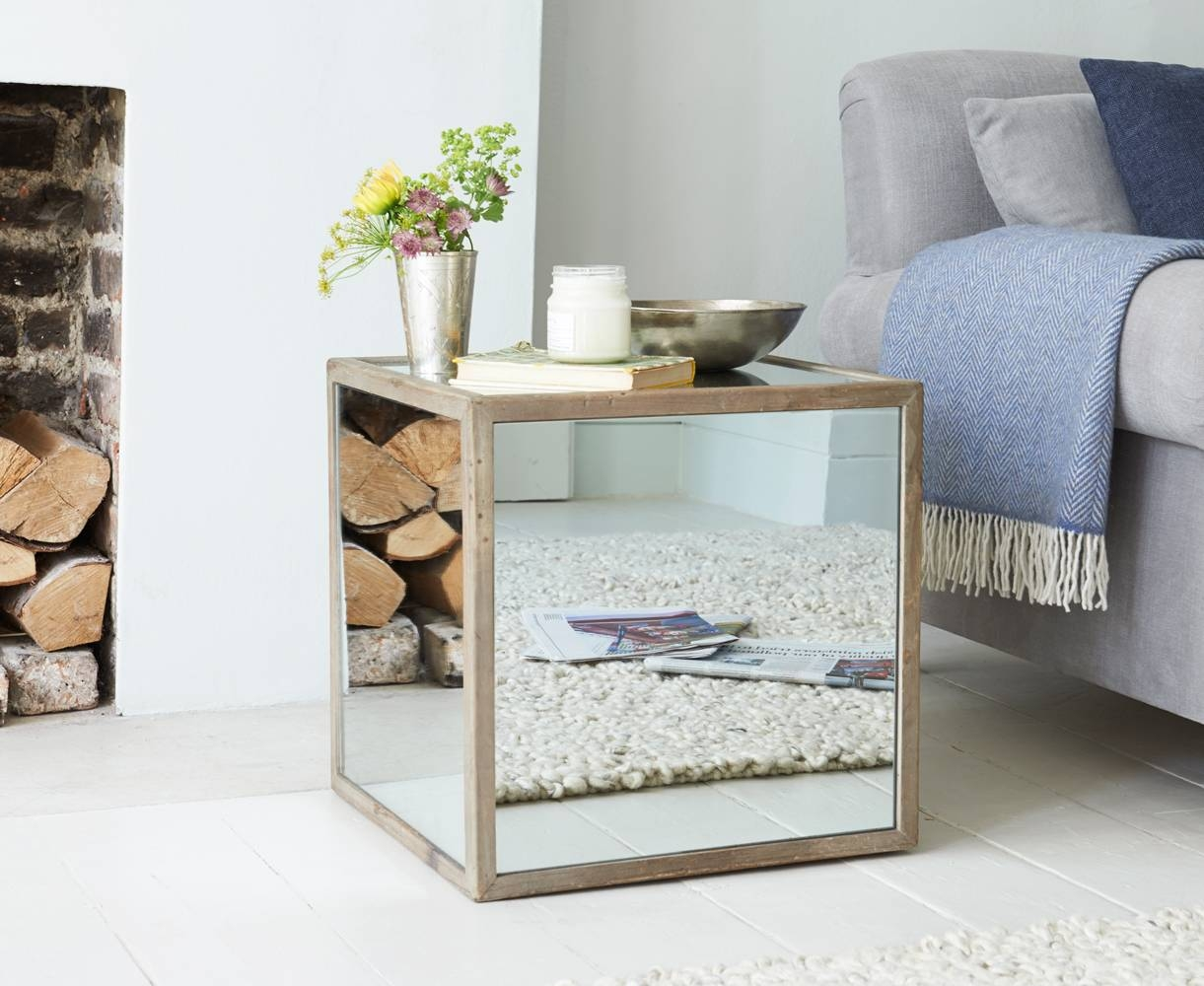 Boomtown Side Table | Mirrored Side Table | Loaf pertaining to Occasional Tables Mirrors (Image 4 of 15)