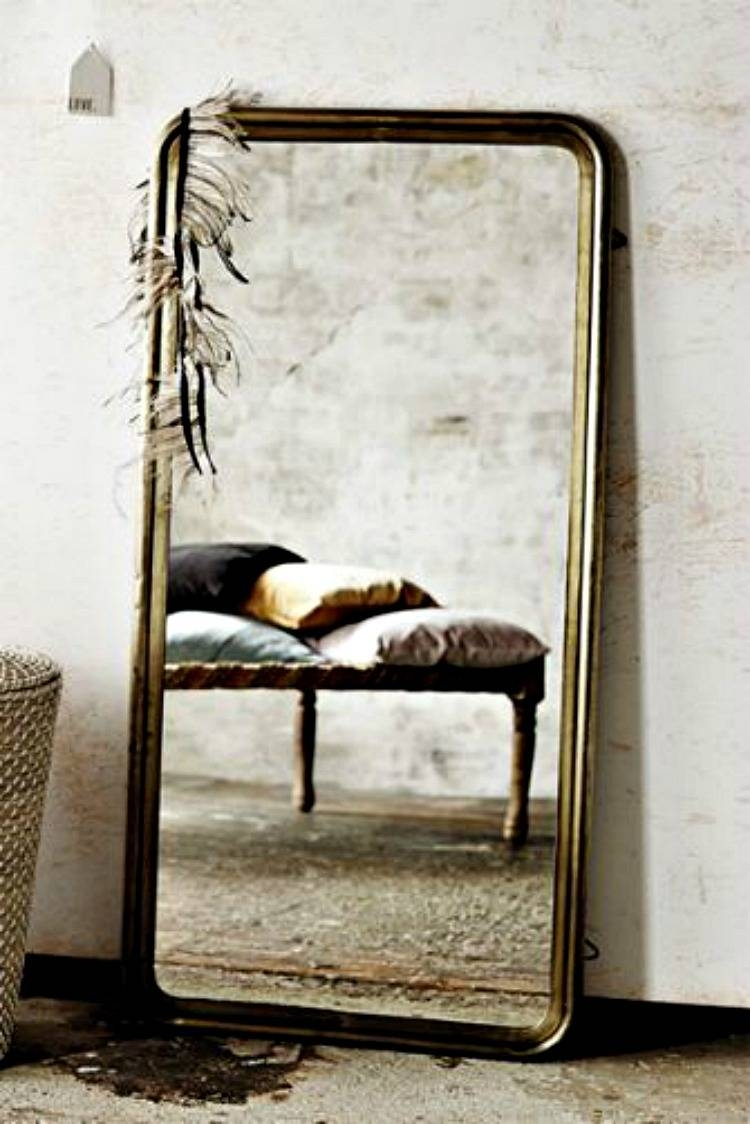 Brass Mirror - Mad About The House for Brass Mirrors (Image 4 of 15)