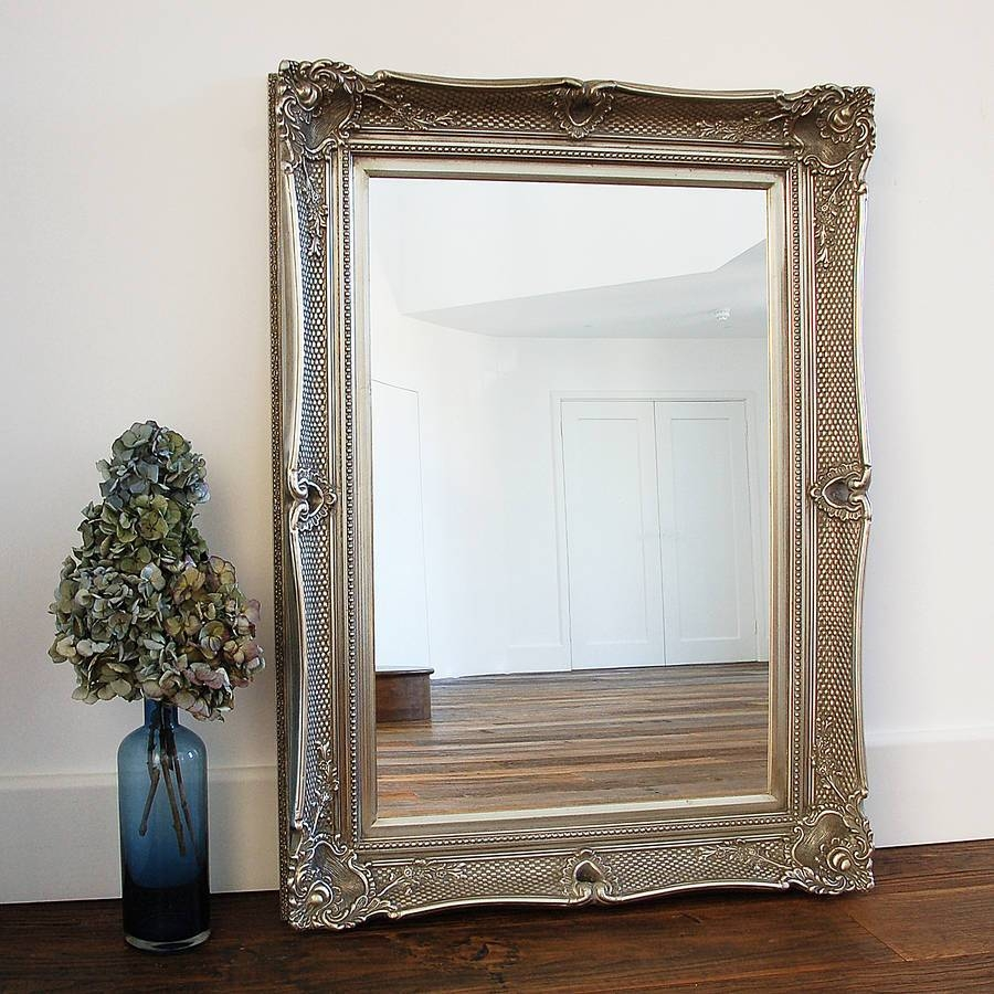 Popular Photo of Champagne Silver Mirrors