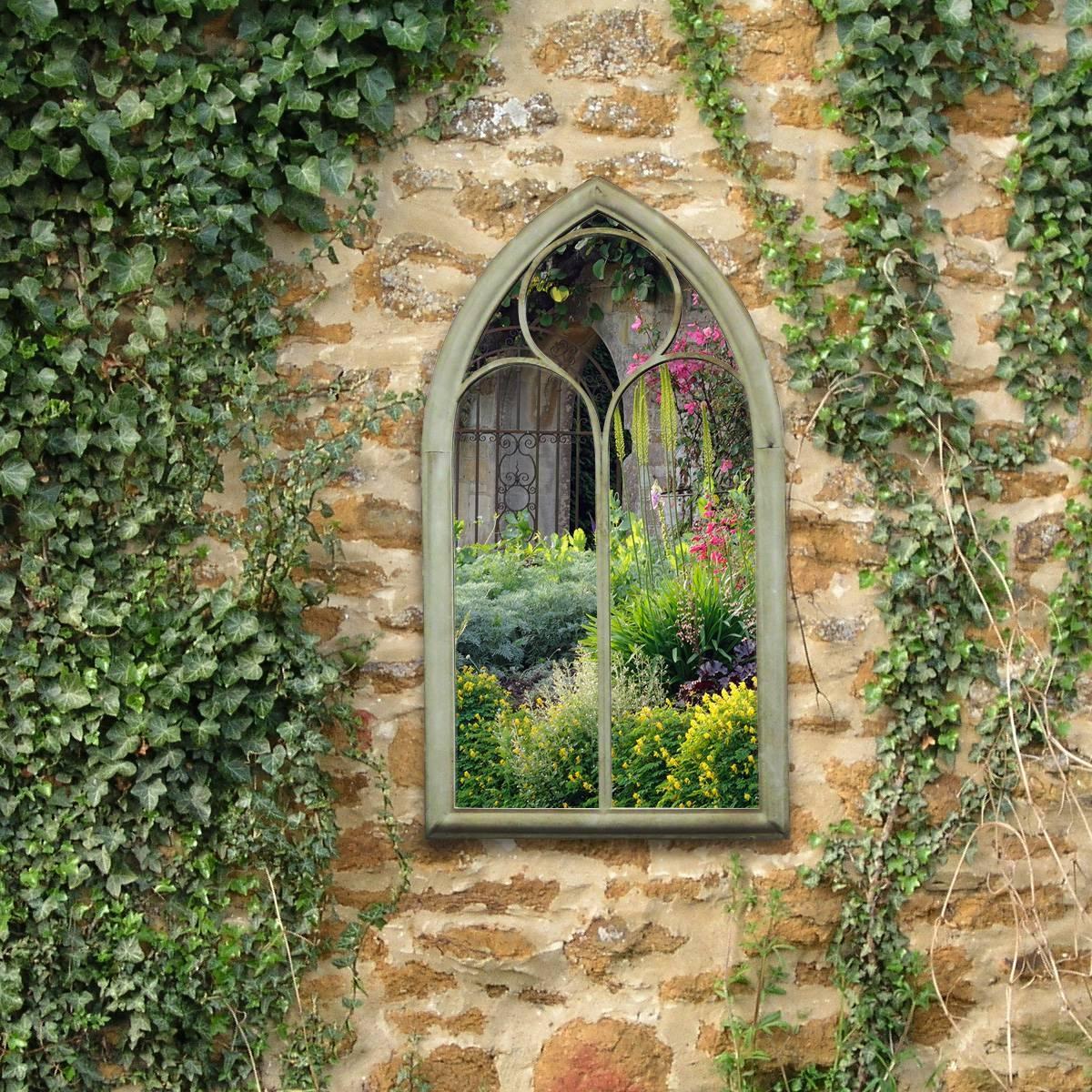 Charles Bentley Chapel Garden Mirror - Charles Bentley inside Gothic Garden Mirrors (Image 6 of 15)